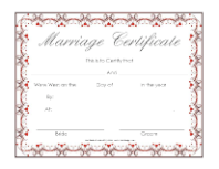 marriage cert